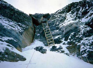 escalera-en-el-segundo-escalon-de-via-collado-norte-everest