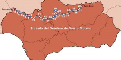 mapa-gr-48-sendero-de-sierra-morena