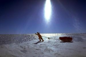 Liv Arnesen fue la primera mujer en pisar el polo sur tras 50 días de aventura. Gracias por la foto a cac.es