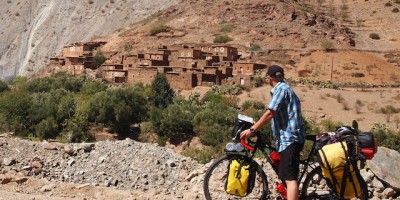 bicicleta-cordillera-atlas-marruecos