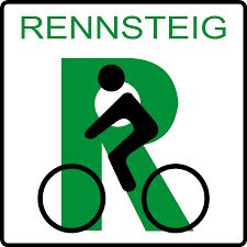 cartel-Rennsteig-bici
