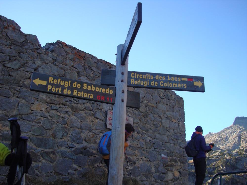 Hacemos la preciosa ruta que visita los siete lagos de Colomèrs en el Valle de Arán
