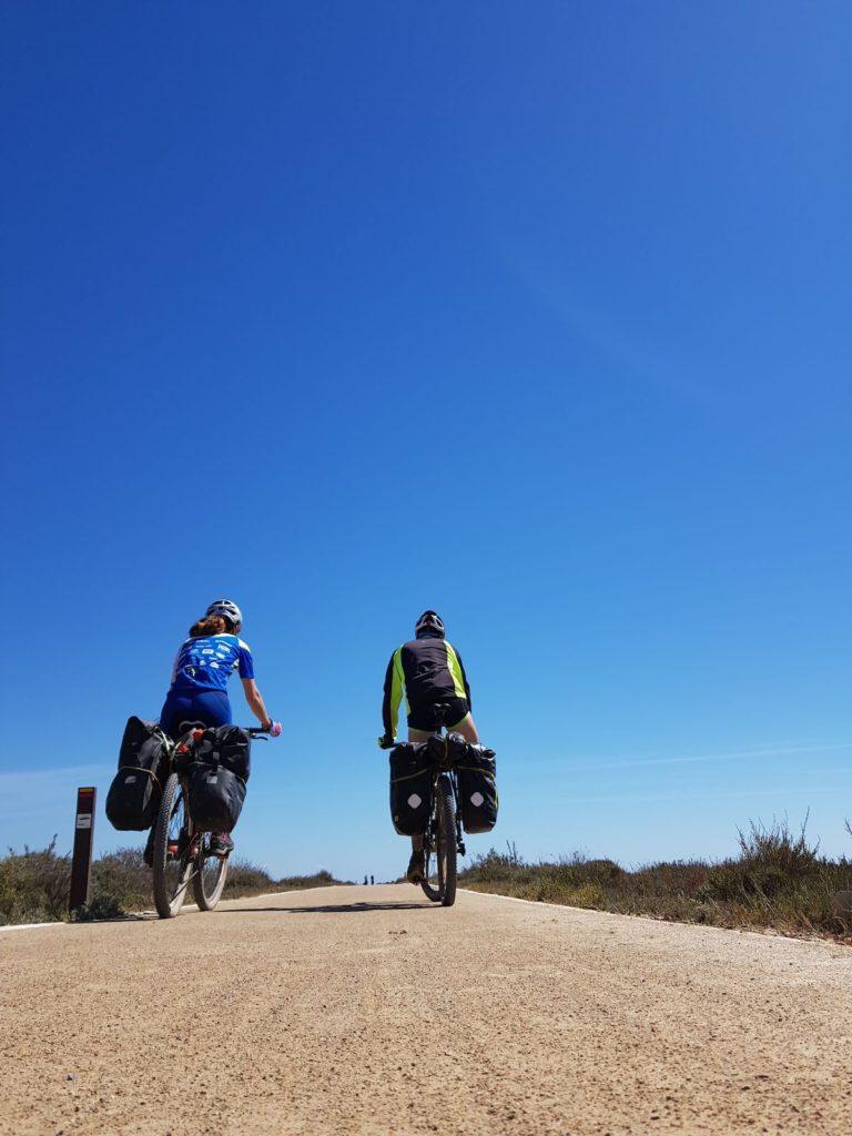 Costa Central Portuguesa en bicicleta