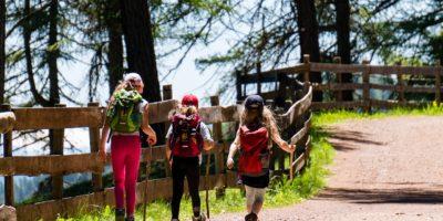 Actividades en la montaña con niños